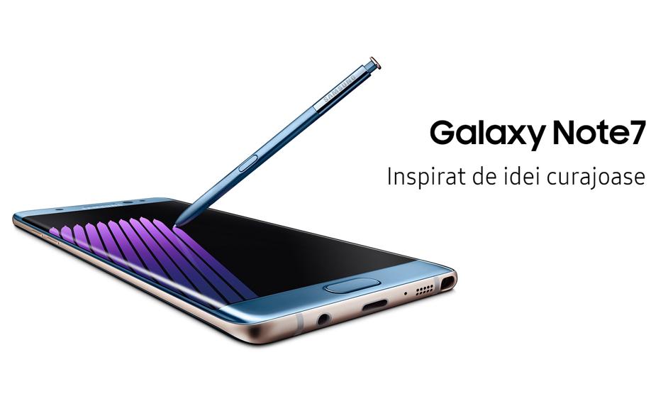 Concurs: Castiga noul Samsung Galaxy Note 7