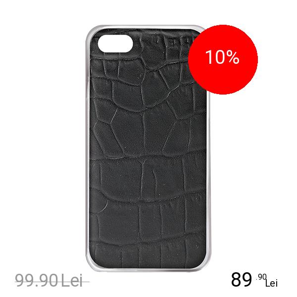 Celly Husa Capac spate Crocodile Negru APPLE iPhone 6, iPhone 6S