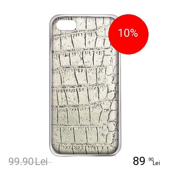 Celly Husa Capac spate CROCODILE Auriu APPLE iPhone 6, iPhone 6S