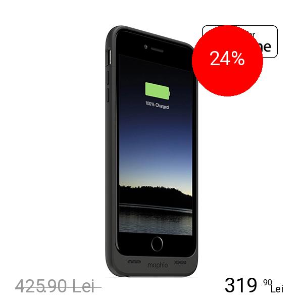 Mophie Baterie Externa + Husa 2600 mAh Juice Pack APPLE iPhone 6 Plus, iPhone 6s Plus
