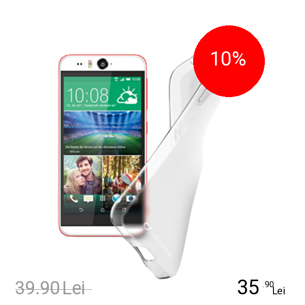 Cellularline Husa Capac spate Transparent HTC Desire Eye