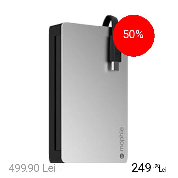 Mophie Baterie Externa 7000 mAh Powerstation Plus 4+ 2 X Micro USB Negru