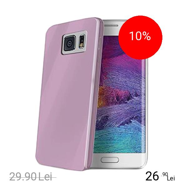 Celly Husa Capac spate Ultrasubtire Violet SAMSUNG Galaxy S6 Edge