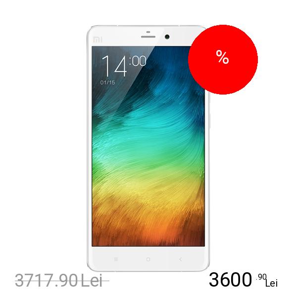 Xiaomi Mi Note Dual Sim 64GB LTE 4G Alb 3GB RAM