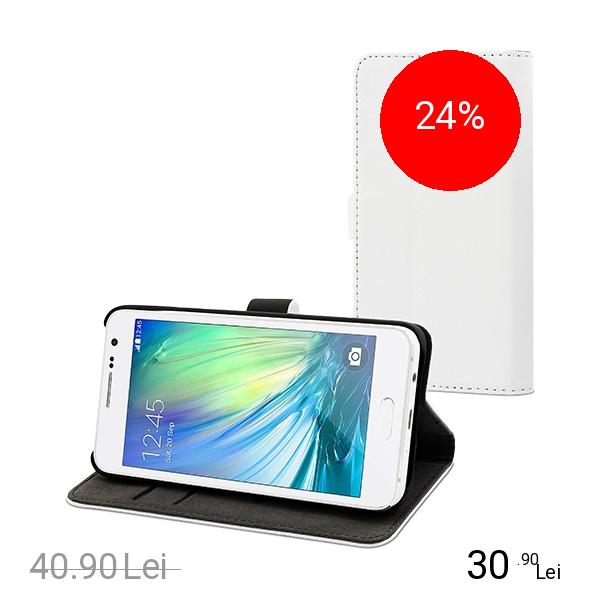 Muvit Husa Agenda Slim S Alb SAMSUNG Galaxy A3