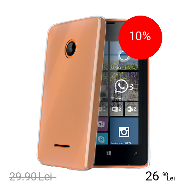 Celly Husa Capac spate Transparent Microsoft Lumia 532