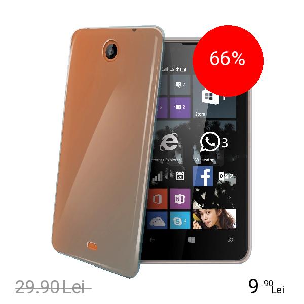 Celly Husa Capac spate Transparent Microsoft Lumia 430