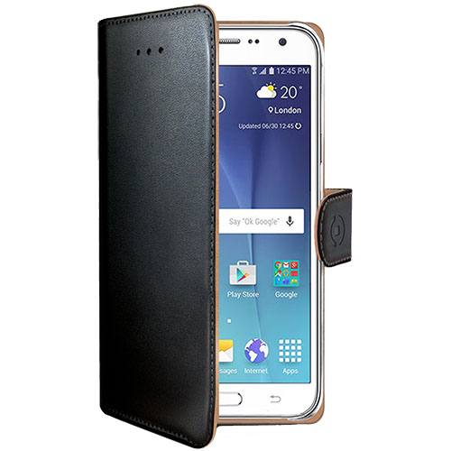 Celly Husa Agenda Negru SAMSUNG Galaxy J5