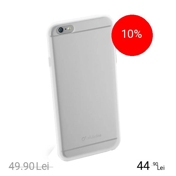 Cellularline Husa Capac spate Alb APPLE iPhone 6 Plus, iPhone 6s Plus