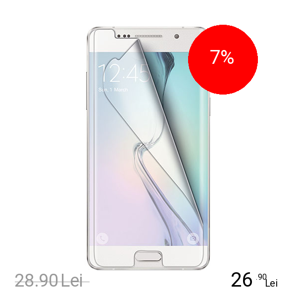 Celly Folie De Protectie Transparenta SAMSUNG Galaxy S6 Edge