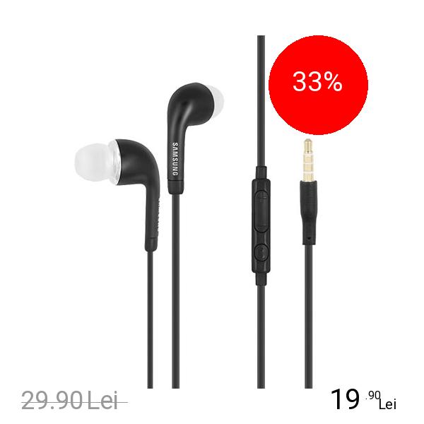 Imagine indisponibila pentru SAMSUNG Casti Audio In Ear Stereo 3.5 mm Bulk Negru