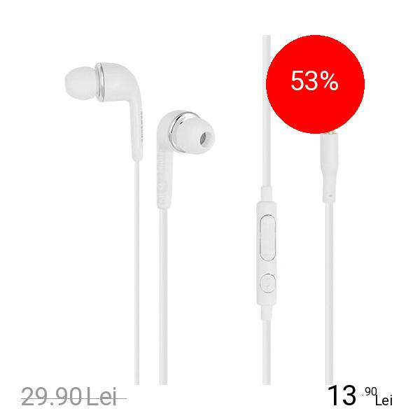 Imagine indisponibila pentru Samsung Casti Audio In Ear Stereo 3.5 mm Bulk Alb