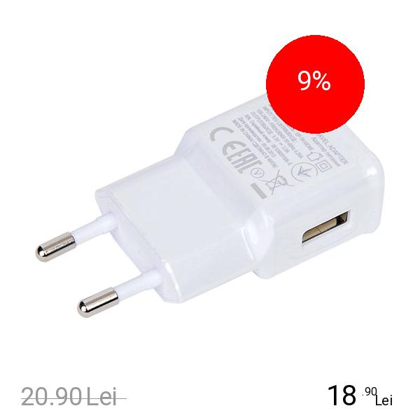 Samsung Incarcator Priza Micro USB 3.0 Bulk Alb