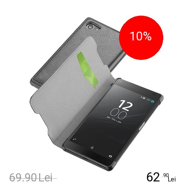 Cellularline Husa Agenda Negru SONY Xperia Z5 Compact