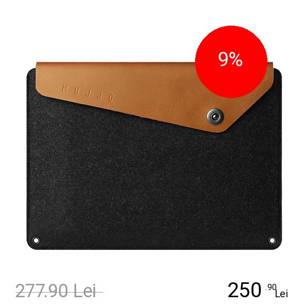 MUJJO Geanta Sleeve Pentru Macbook Pana In 12