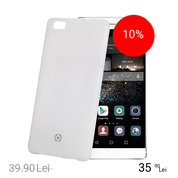 Celly Husa Capac spate Frost 0.29MM Alb HUAWEI P8 Lite