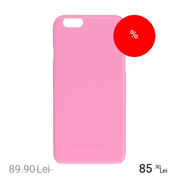HAPPY PLUGS Husa Capac spate Ultrasubtire Roz APPLE iPhone 6, iPhone 6S