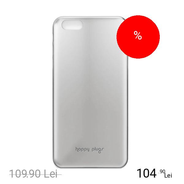 HAPPY PLUGS Husa Capac spate Slim Deluxe Argintiu APPLE iPhone 6, iPhone 6S