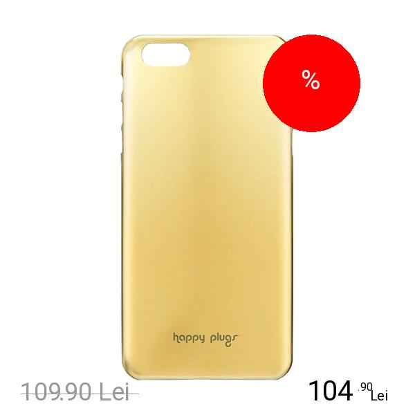 HAPPY PLUGS Husa Capac spate Slim Deluxe Auriu APPLE iPhone 6 Plus, iPhone 6s Plus