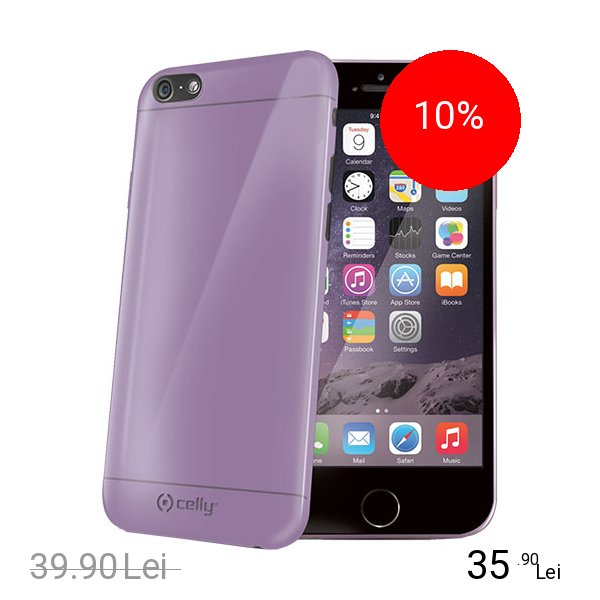 Celly Husa Capac spate Violet APPLE iPhone 6, iPhone 6S