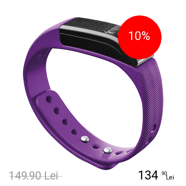 Cellularline Bluetooth Bratara Fitness Violet
