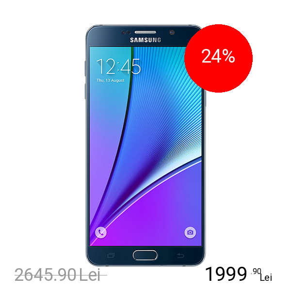 Samsung Galaxy Note 5 32GB LTE 4G Negru 4GB RAM