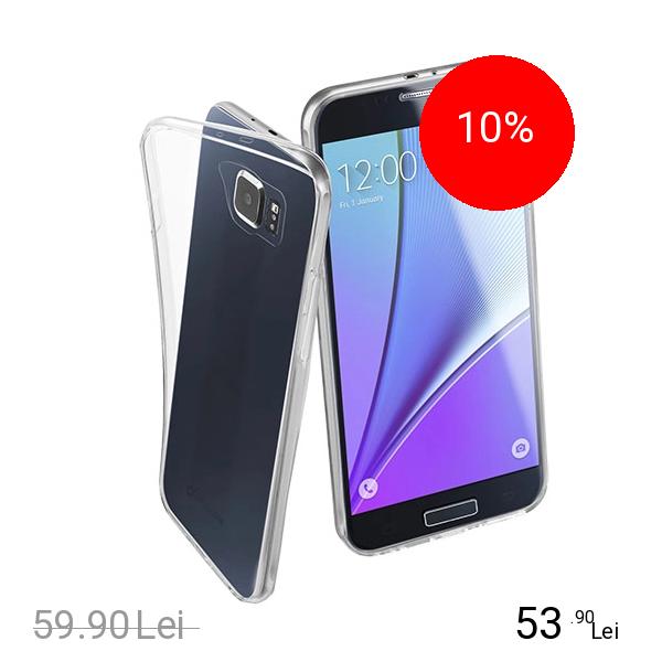 Cellularline Husa Capac Spate Transparent Samsung Galaxy S7
