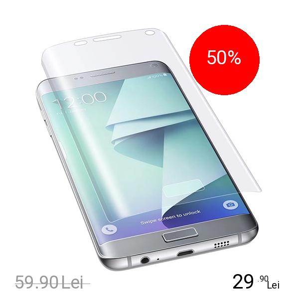 Cellularline Folie De Protectie Transparenta Samsung Galaxy S7 Edge
