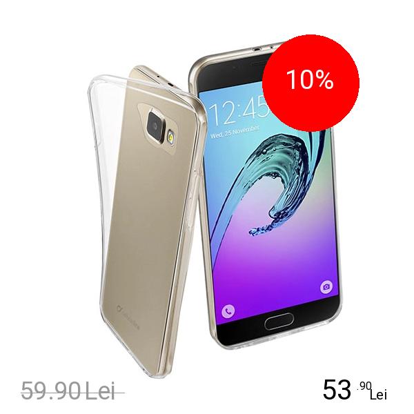 Cellularline Husa Capac spate Transparent Samsung Galaxy A7 2016
