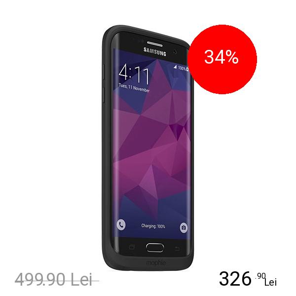 Mophie Baterie Externa + Husa 3300mAh Juice Pack Samsung Galaxy S7 Edge