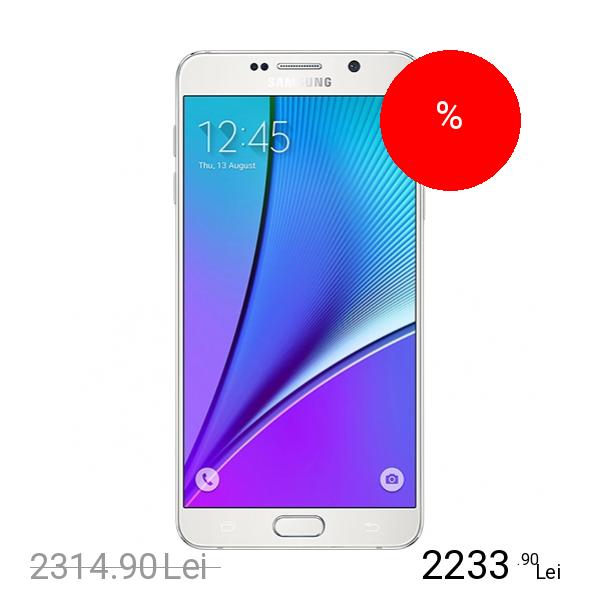 Samsung Galaxy Note 5 32GB LTE 4G Alb 4GB RAM