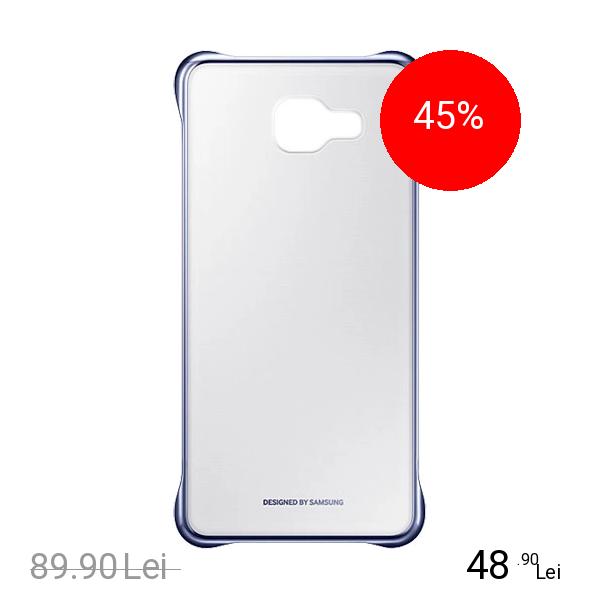 Samsung Husa Capac Spate Clear Negru Samsung Galaxy A5 2016