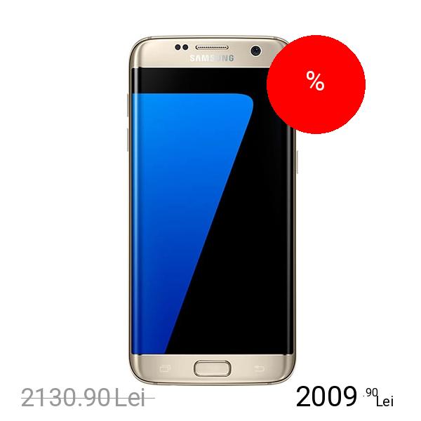 Samsung Galaxy S7 Edge Dual Sim 32GB LTE 4G Auriu 4GB RAM