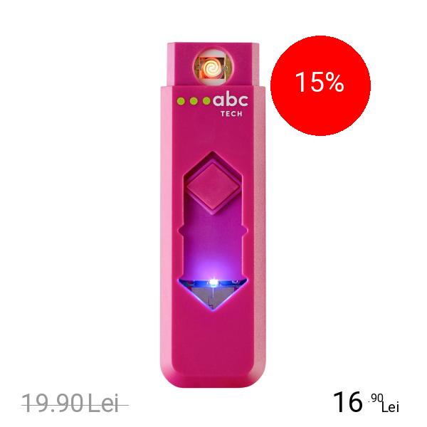 ABC Tech Bricheta Electronica USB Roz