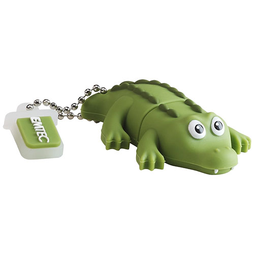 EMTEC Stick USB 8GB USB 2.0 Crocodile