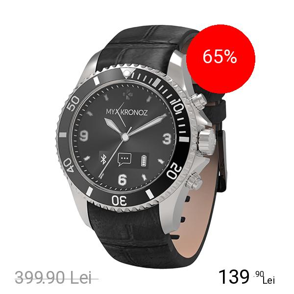Mykronoz Smartwatch ZeClock Premium Argintiu