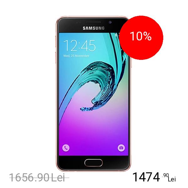 Samsung Galaxy A3 2016 Dual Sim 16GB LTE 4G Roz