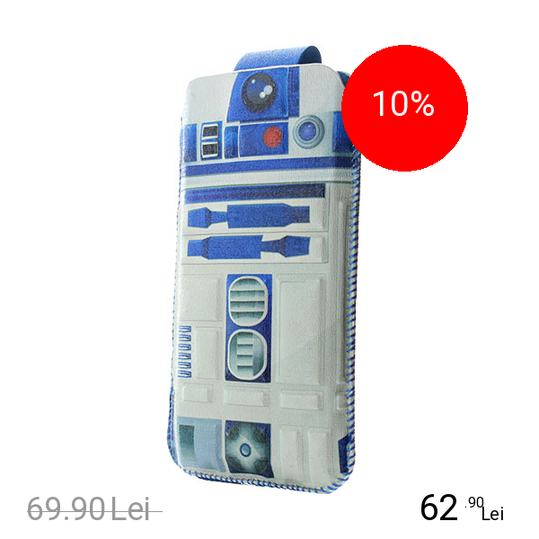 STAR WARS Husa R2D2 Pouch Multicolor APPLE iPhone 6, iPhone 6S