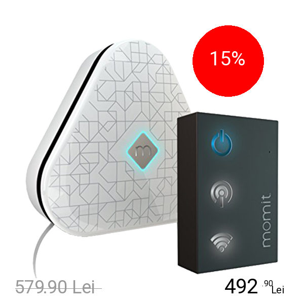 MOMIT Telecomanda Cool Pod Starter Kit Si Accesoriu Conexiune Wireless Gateway