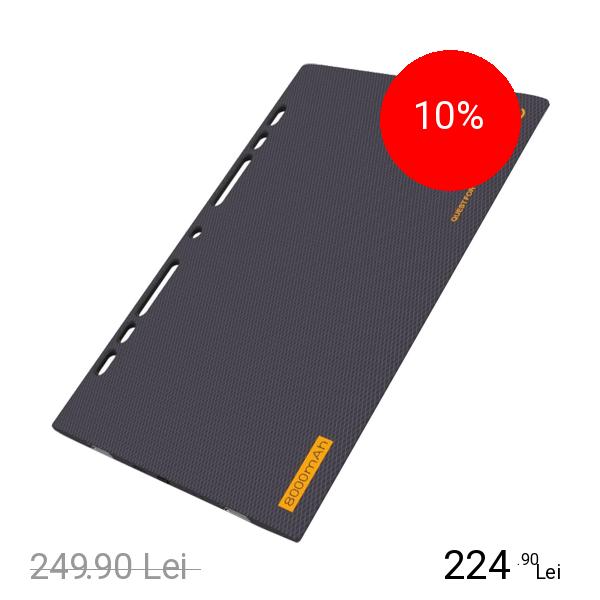 EMIE Baterie Externa Power Blade 8000mAh Cu Doua Porturi USB + Agenda Notite
