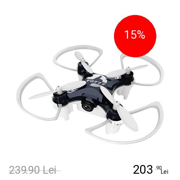 STAR Mini Drona 954D Negru Cu Camera Video Si Foto 0.3Mp