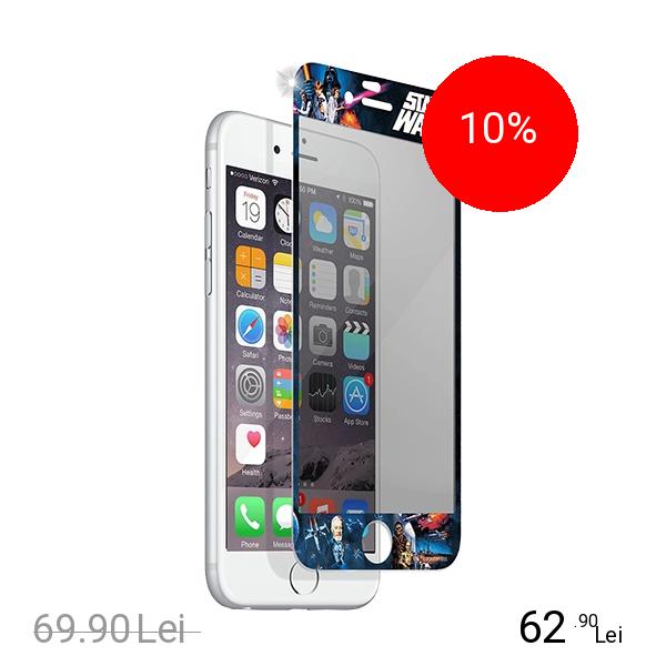 STAR WARS Sticla Securizata Transparent APPLE iPhone 6, iPhone 6S