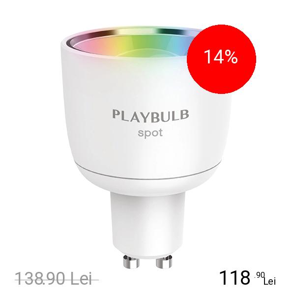 MIPOW Bec Led Playbulb Spot App Enabled