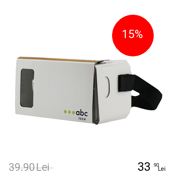 Imagine indisponibila pentru ABC Tech Ochelari VR Cardboard Alb