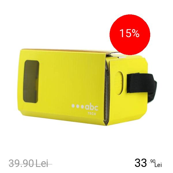 Imagine indisponibila pentru ABC Tech Ochelari VR Cardboard Galben