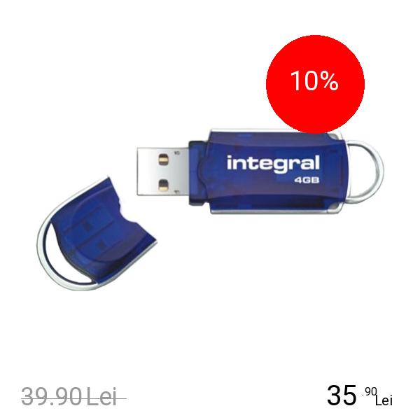Integral Stick USB 4GB Drive Courier USB 2.0