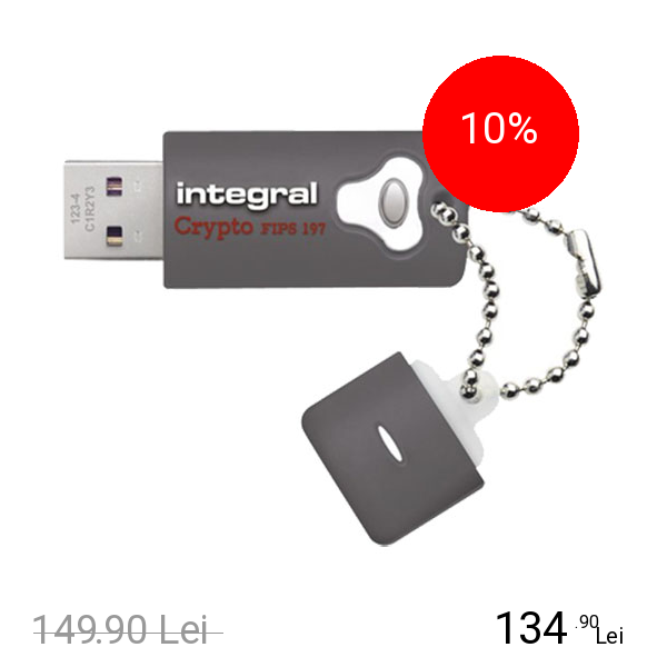 Integral Stick USB Fusion Crypto 3.0 4GB Gri