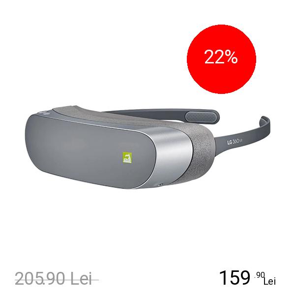Imagine indisponibila pentru Lg Ochelari Inteligenti 360 VR R100 Pentru LG G5 Gri