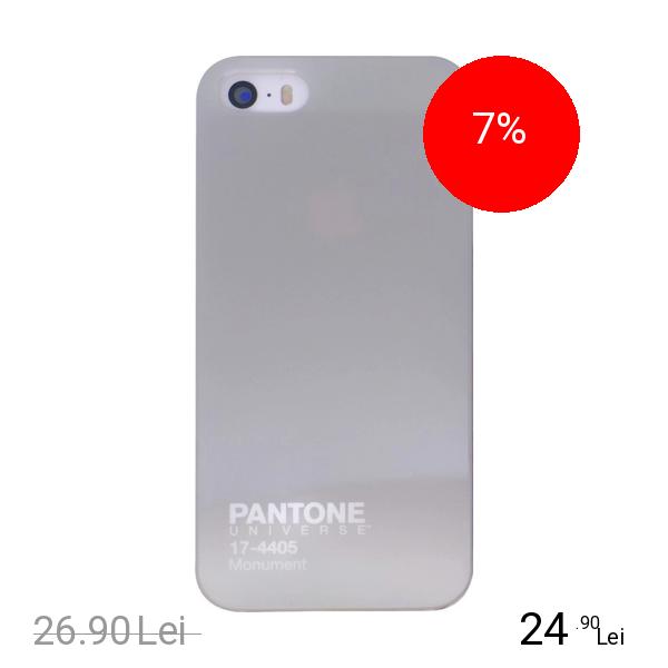 CASE SCENARIO Husa Capac Spate Pantone Gri APPLE iPhone 5s, iPhone SE
