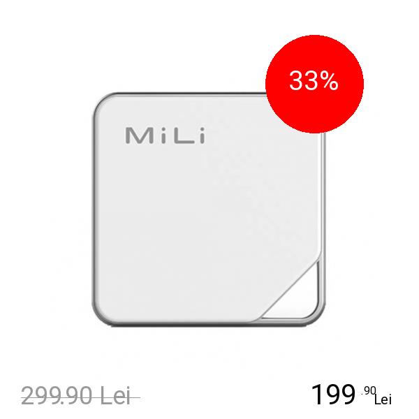 MILI IData Air Memorie Externa Smart Wireless 32GB Cu Aplicatie Pentru Telefoanele IOS Si Android